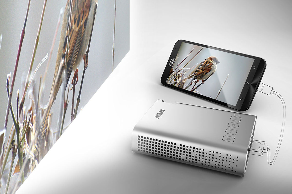 asus brings a usb c monitor  inch curved display and projector to ces zenbeam portable zenfone