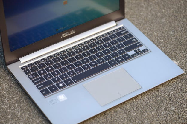 Asus Zenbook Prime UX32VD review keyboard touchscreen