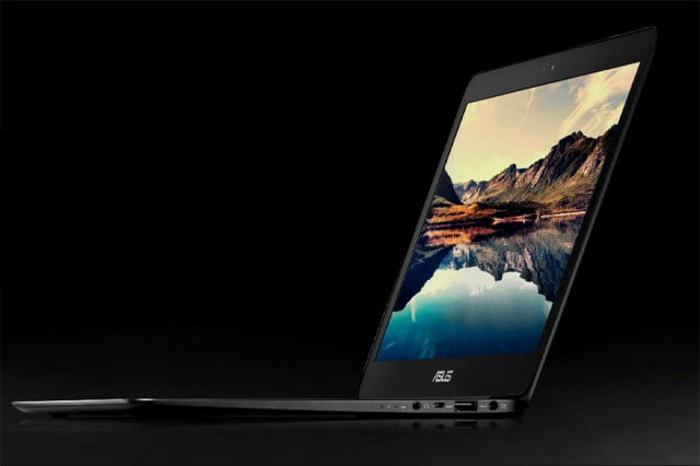 which laptopspcs will have intel core m processors asus zenbook ux  front angle