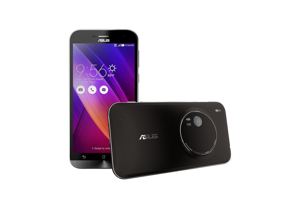 asus announces camera focused zenfone zoom at ces front and back