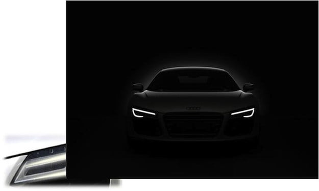 Audi LED lights