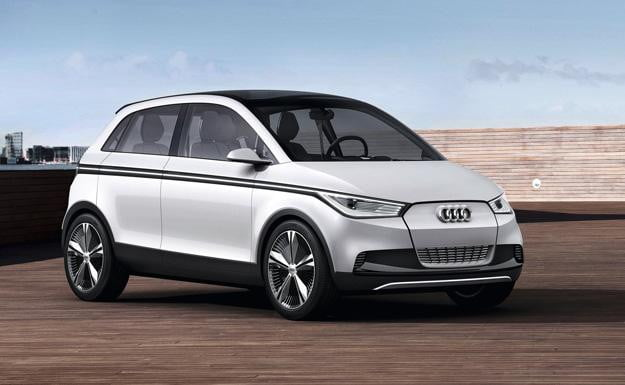 Audi A2 electric car