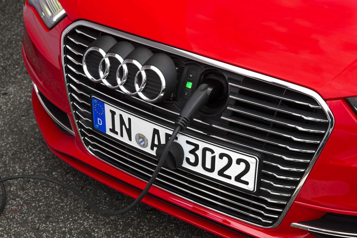 audi plug in hybrids proliferate with planned a  q models e tron front