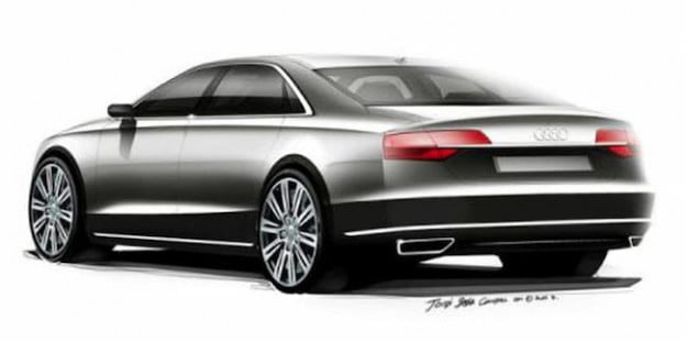 Audi A8 refreshed