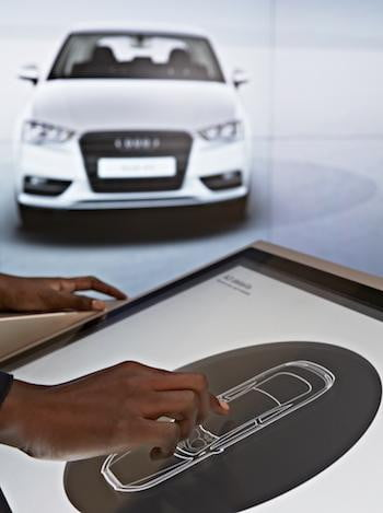 Audi City Showroom Touch
