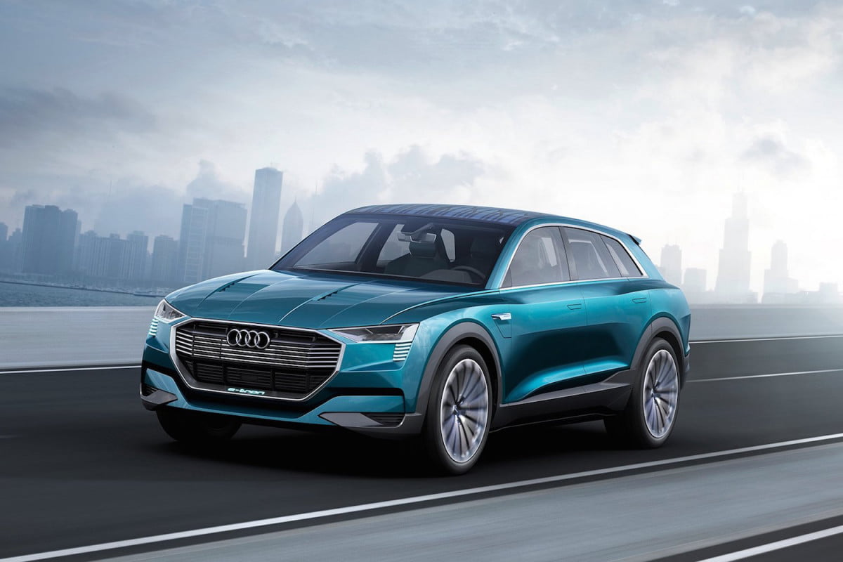 audi says electric cars will comprise a quarter of its us sales by  e tron quattro concept front angle