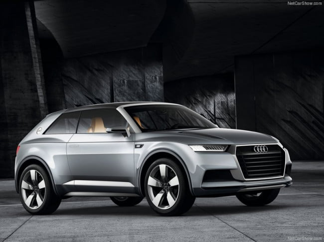 Audi looks to build a production version of the Crosslane, sets ambitious 282 mpg goal