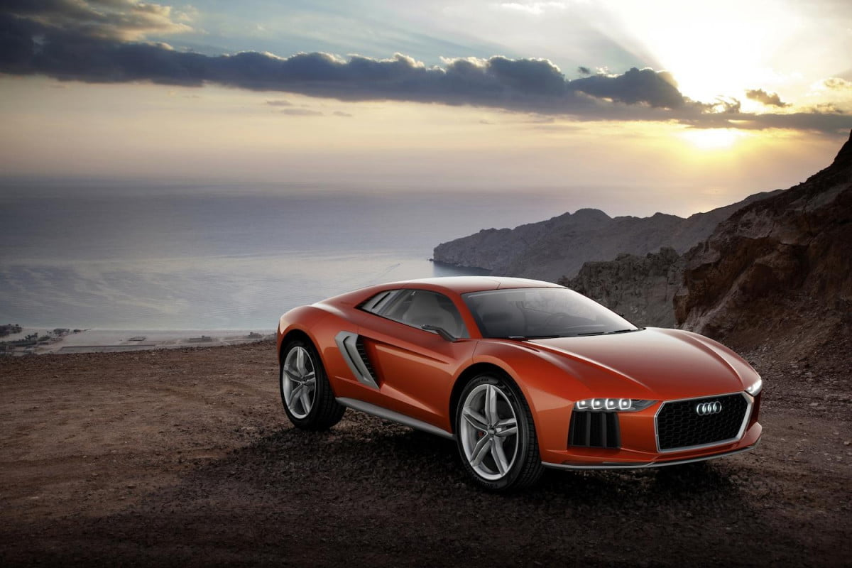 the audi nanuk quattro concept pumps  hp from a v tdi