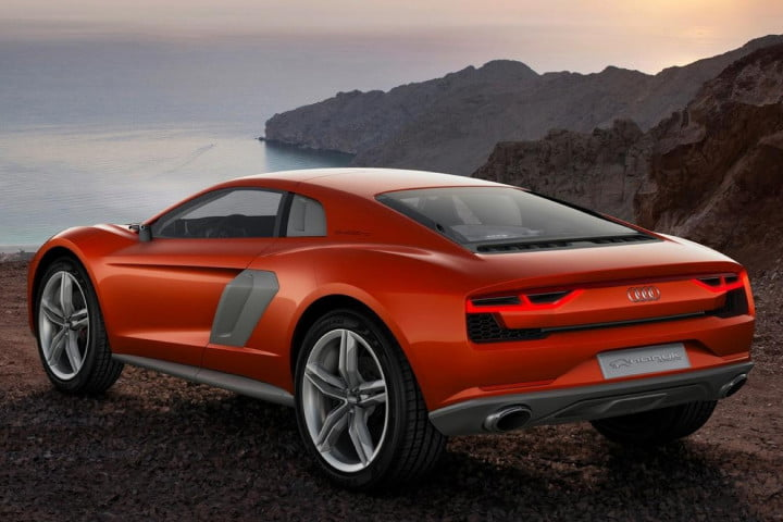 the audi nanuk quattro concept pumps  hp from a v tdi rear