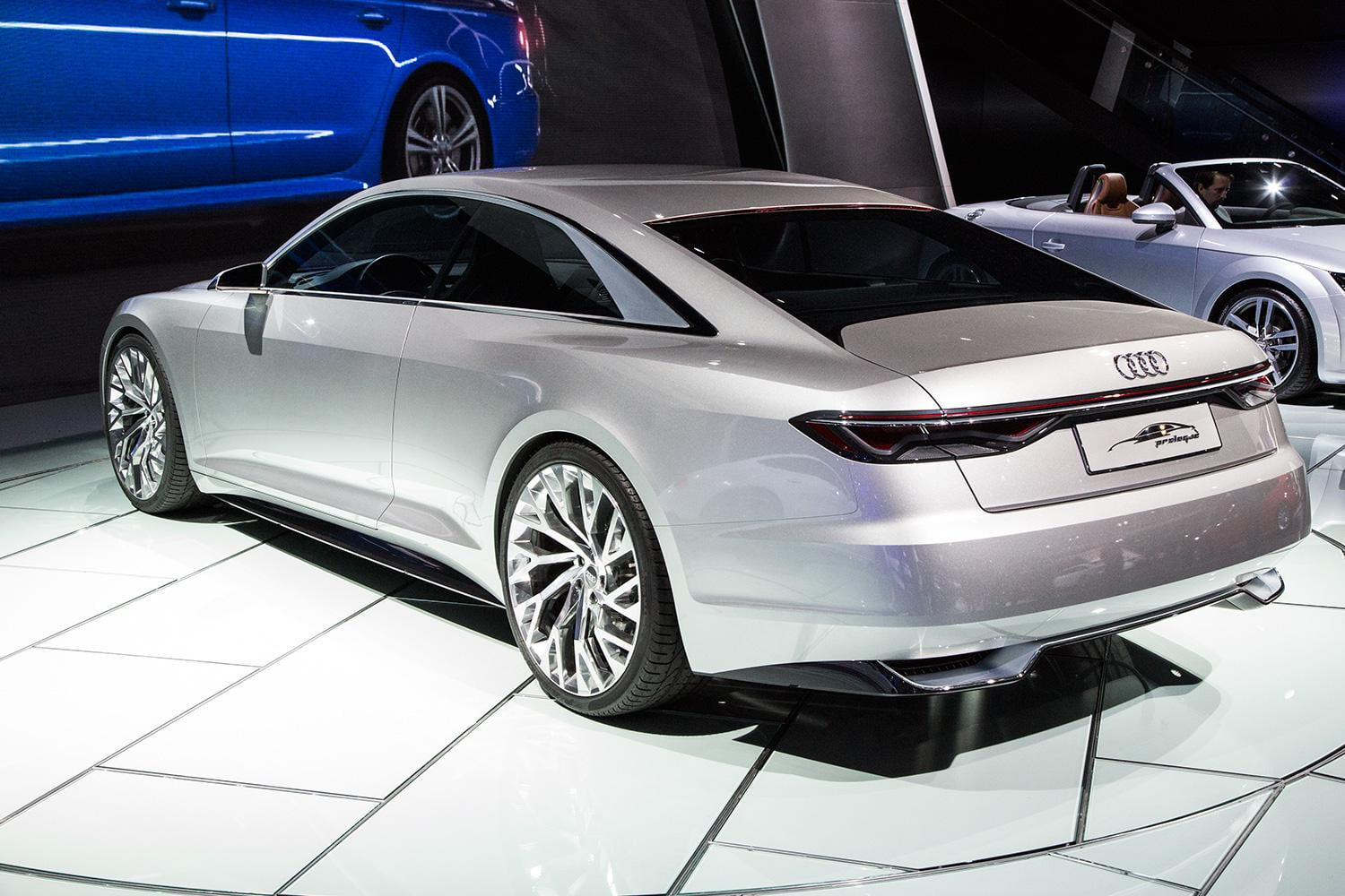 Audi piloted driving prologue concept