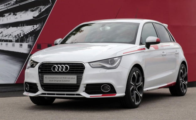 Audi A1 Competition Kit R18 front three quarter