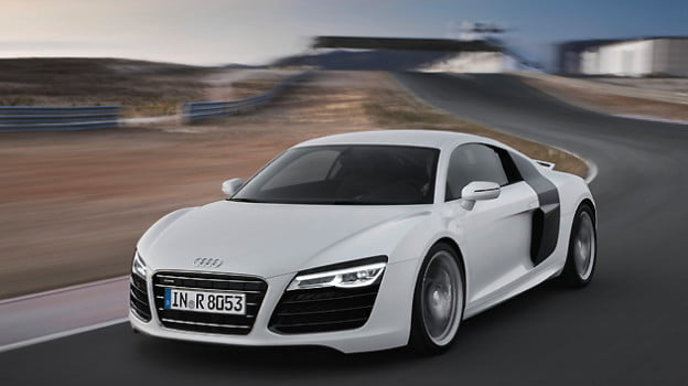 The 2013 Audi R8