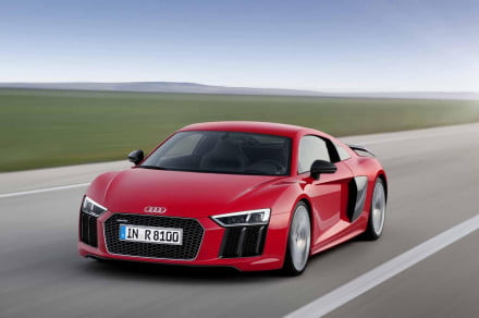 The new 2017 Audi R8 hits the