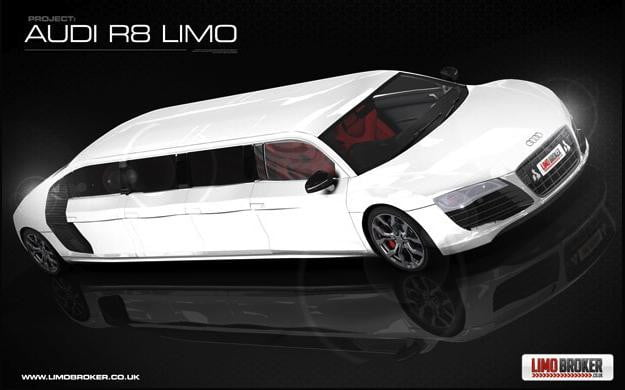 Audi R8 Stretch Limo