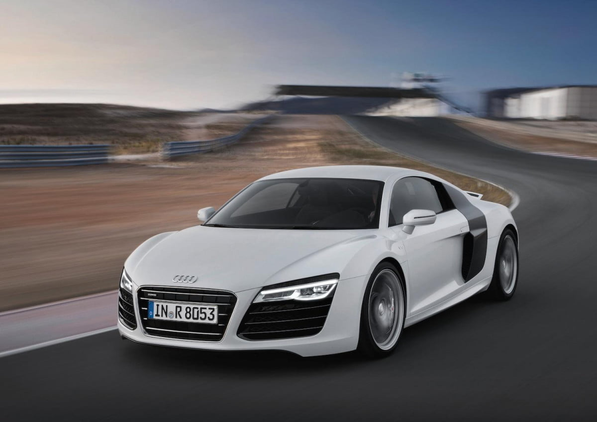 new audi r  sent back drawing board disappointing engineering brass v pace car