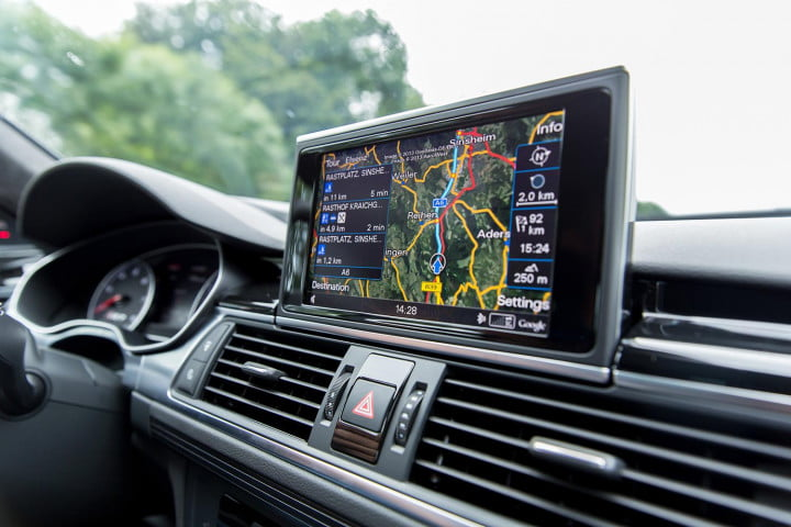 audi rs review gps