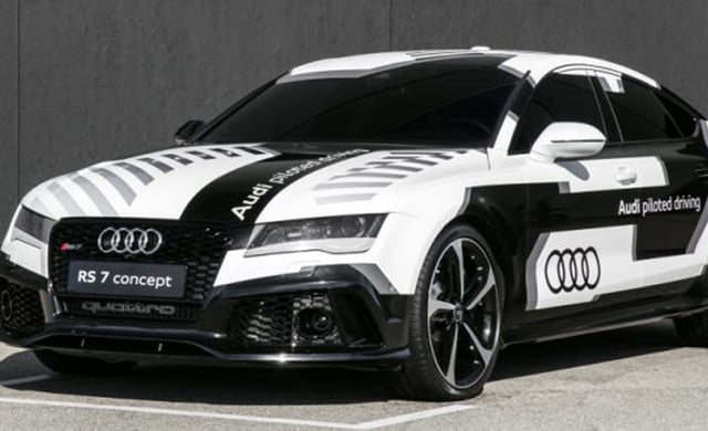 audi training autonomous human manners rs  piloted driving concept x