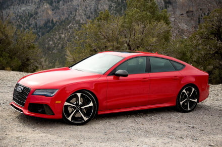 Audi RS 7 right side