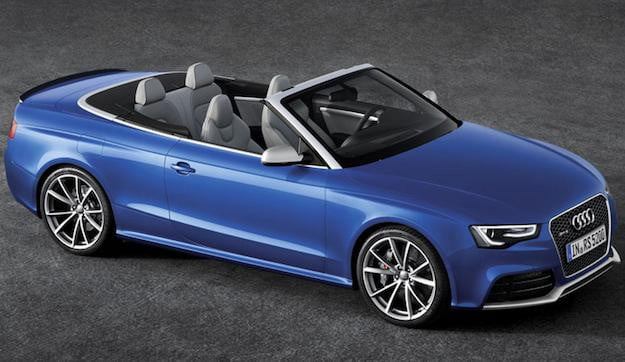 Audi RS5 Cabriolet Side