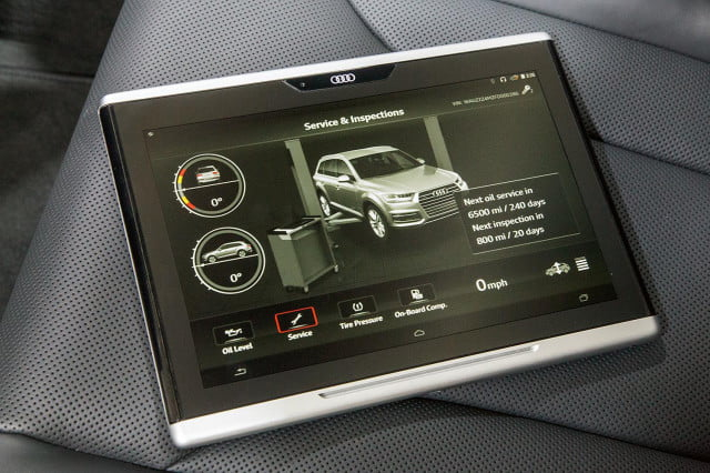 Audi Tablet for 2016 Q7
