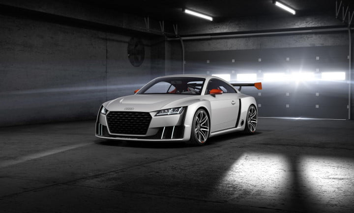 audi tt clubsport turbo technology concept news specs pictures