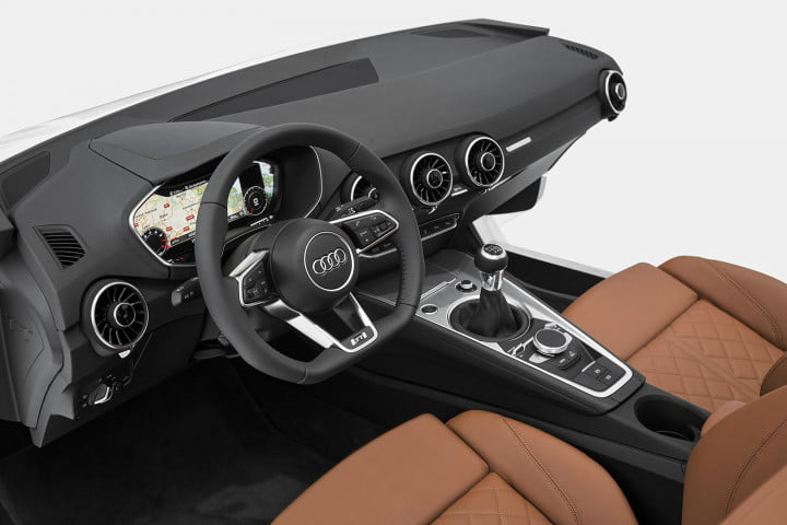 how audi redesigned the  tt new interior at ces