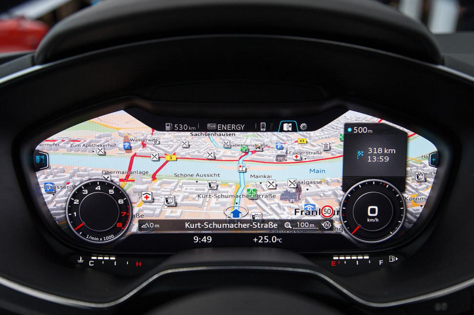 audi a3 to get 39 virtual cockpit 39 next year exec says digital trends. Black Bedroom Furniture Sets. Home Design Ideas
