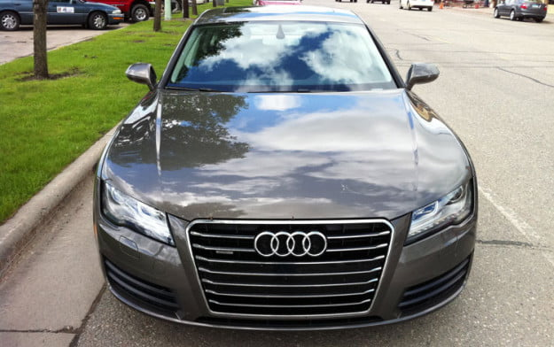 Audi 7 front grill