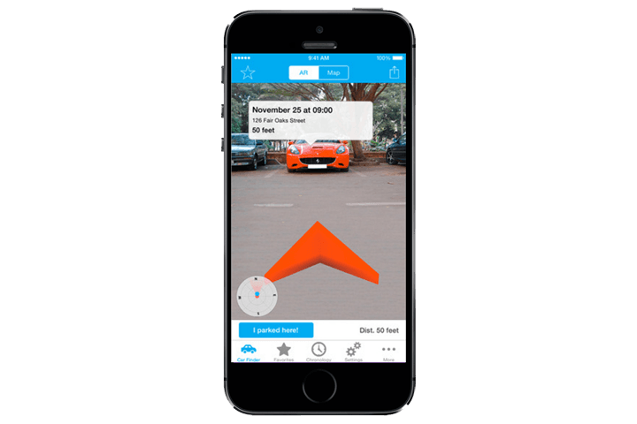 Augmented Car Finder (iOS)