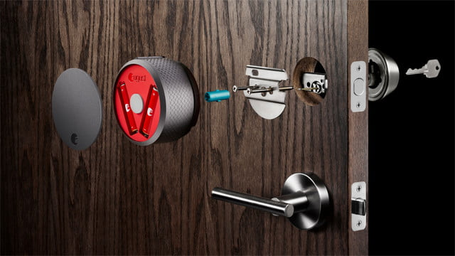 august home voice control smart lock