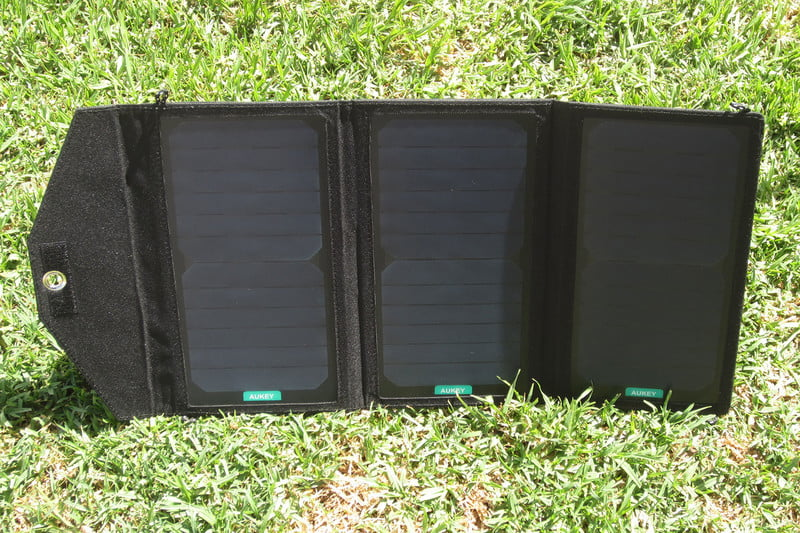 AUKEY 20W PORTABLE FOLDABLE SOLAR CHARGER REVIEW at Digital Trends