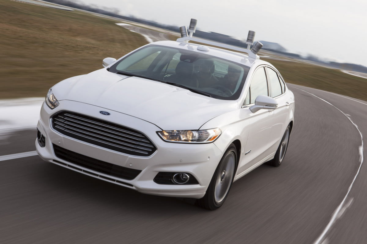 you can create chaos for a self driving car only  automated ford fusion hybrid research vehicle