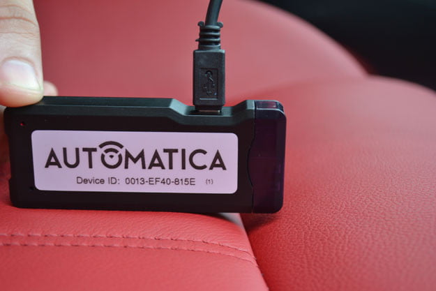 Automatica on seat