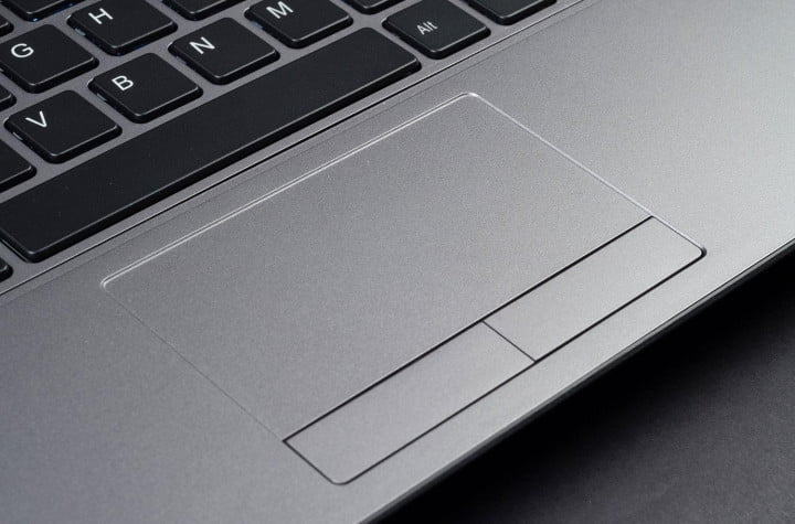 avadirect clevo w  st review trackpad