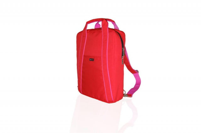 Ice Red AVA Urban Laptop Backpack