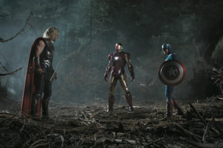 The Avengers Thor Iron Man and Captain America