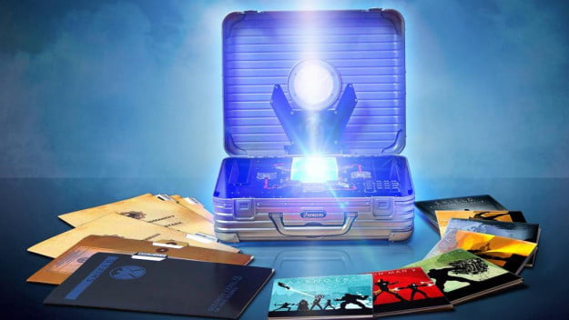 The Avengers briefcase blu-ray collection