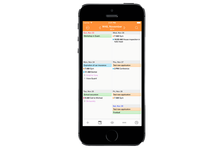Awesome Calendar for iOS