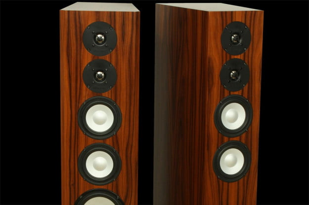 Axiom LFR1100 Floorstanding Speakers front top macro
