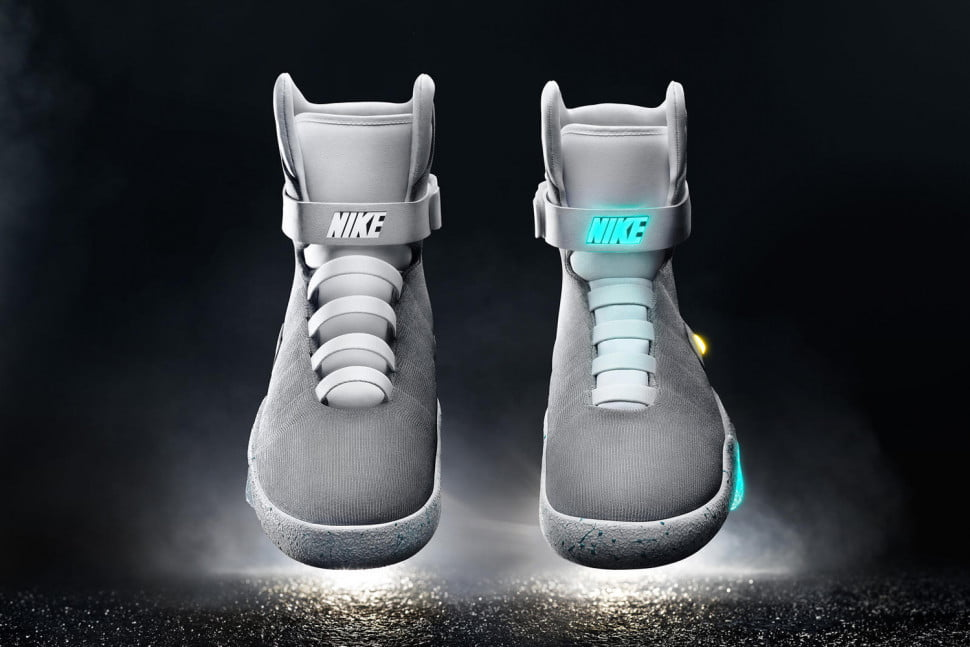 back to the future nike shoes price