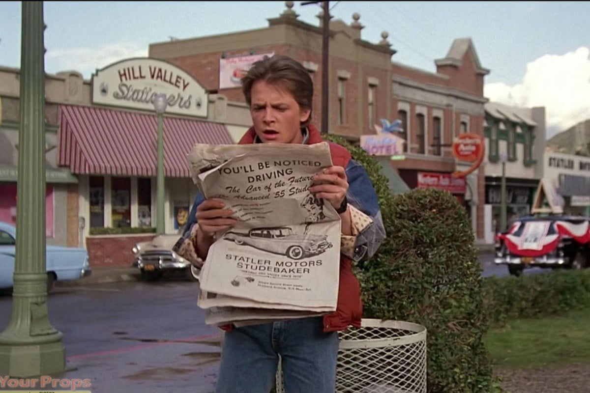 back to the future anniversary hill valley kansas