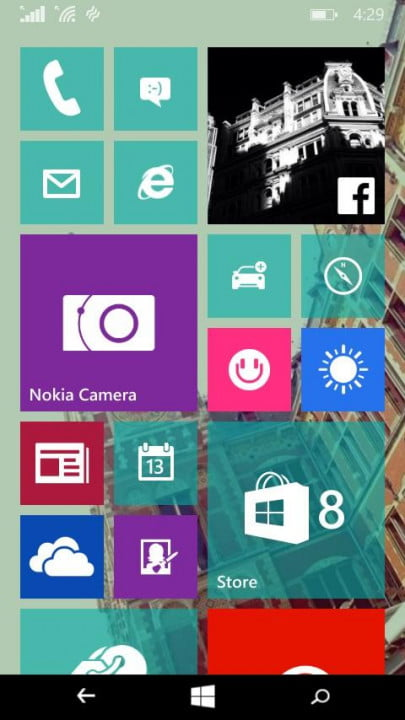 windows  technical preview phone hands on background