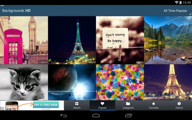 Backgrounds_HD_Android_tablet_app_screenshot