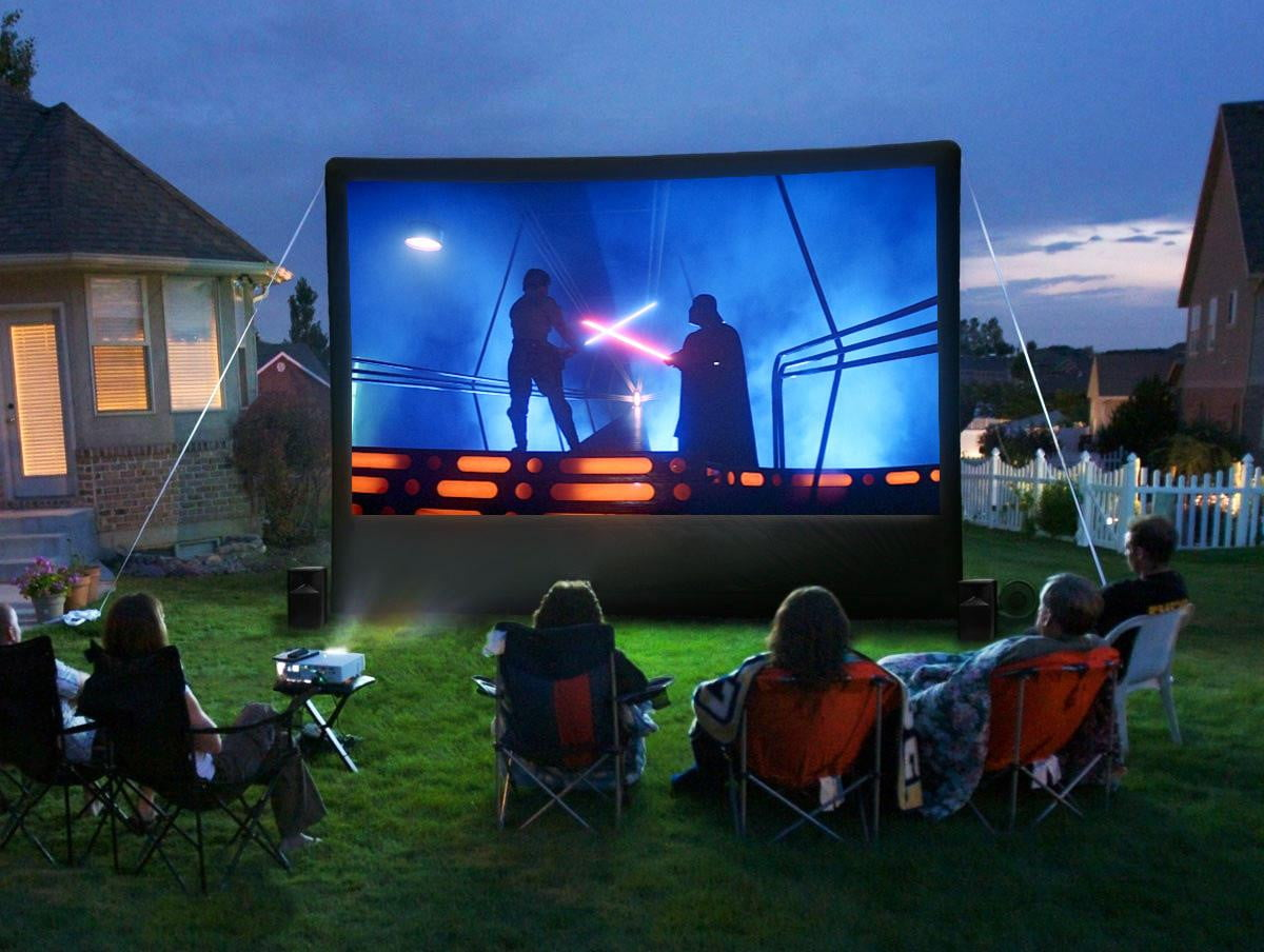 your friends and annoy your neighbors with your own backyard theater