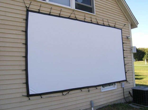 Screen Side of House