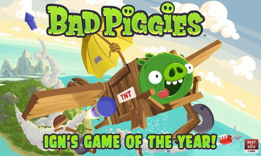 Bad Piggies screenshot