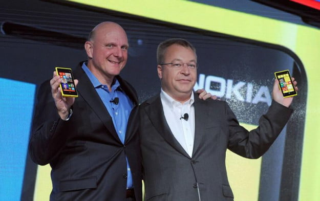 Ballmer and Elop at Nokia Windows Phone launch