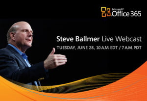 Microsoft Office 365 Webcast