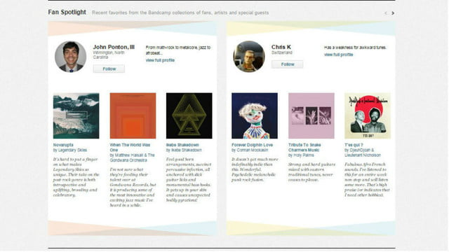 bandcamp launches subscription service screenshot