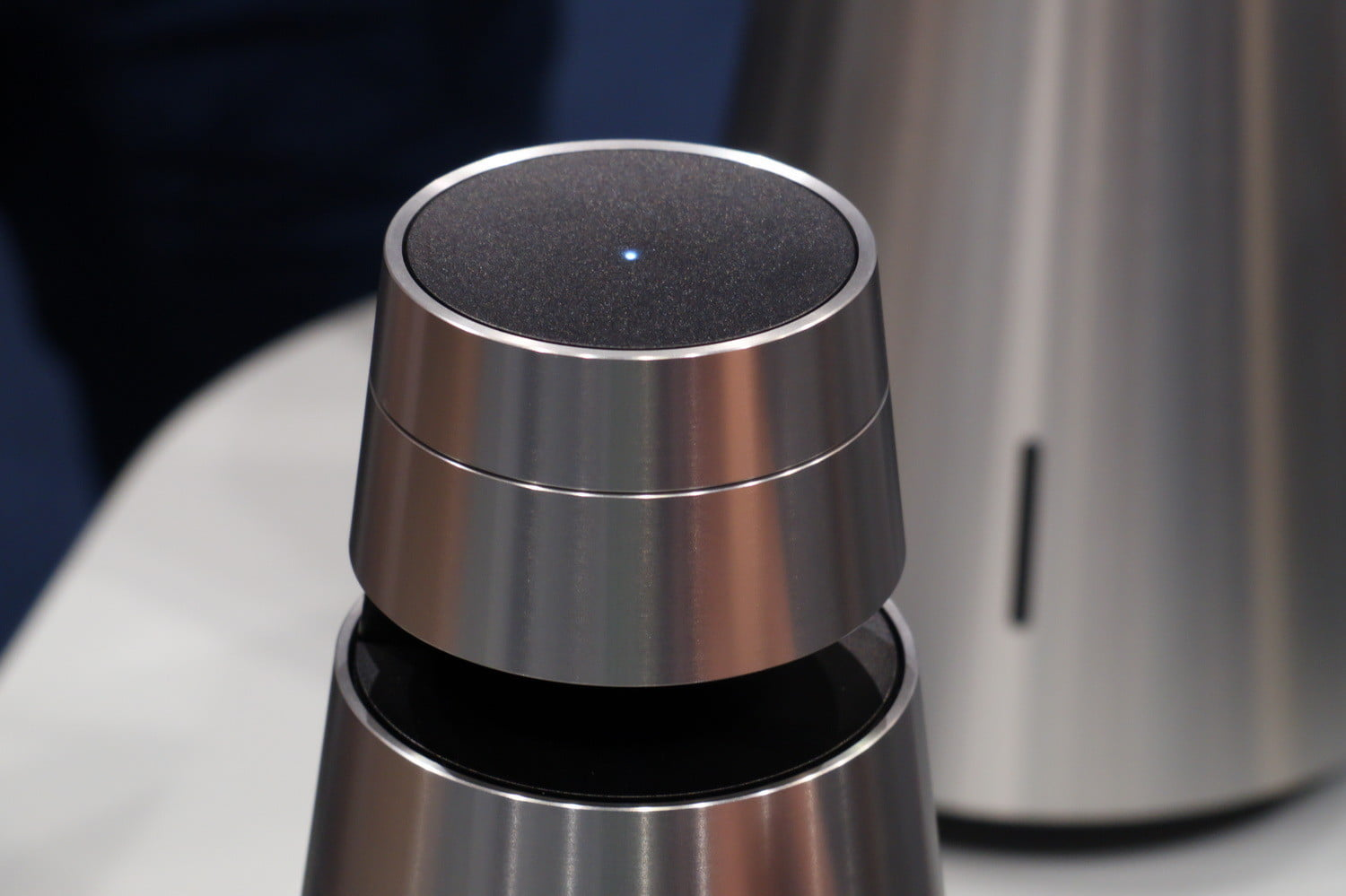 Bang & Olufsen's pricey new wireless speakers look like martini shakers